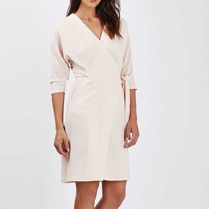 Topshop Batwing Wrap Dress